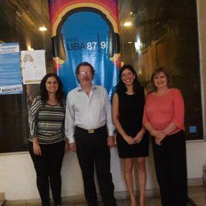 Dra. María Elena Barbagelata, Dr. Guillermo Goldstein y Dra. Soledad Alposta