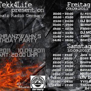 Bassbottle - Dj Schranzwahn's Birthday Party on Hardtekk4life 9-9-11