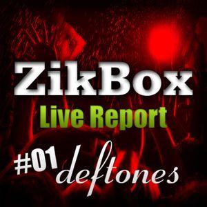 ZIKBOX - Live Report 01 - Deftones