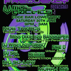 Miss Dixie b2b Bassraper Live At Deviant Frequency Presents Mob Tactics