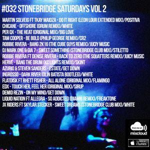 #32 StoneBridge Saturdays Vol 2