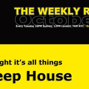 THE WEEKLY R&G - DEEP HOUSE Session - BondiFM - 231012
