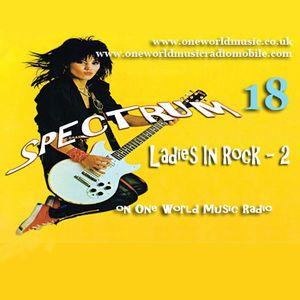 Spectrum 18 - Ladies in Rock 2