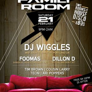 Tim Brown Yacht Rock Live @ Family Room 2/21/15