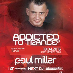 Next DJ @ Addicted To Trance 4 - Alter Ego, Szczecin (18-04-2015)