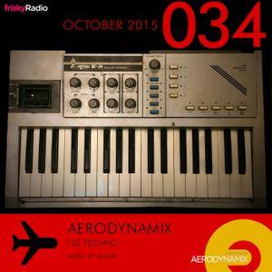 Aerodynamix 034 @ Frisky Radio Oct 2015 mixed by JuanP