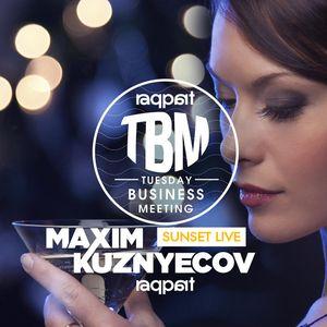 Maxim Kuznyecov - Live @ Raqpart sunset, Budapest (2017-08-15)