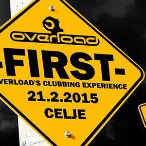 Rok Tomic Live @ Overload, Cele Club, Celje, 21.2.2015