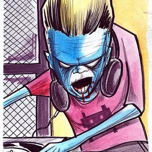 Bobkat Blending the Blood Curdling Bass - Halloween Mix 2013