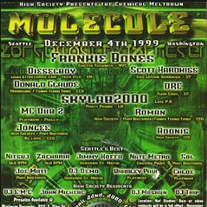 Frankie Bones at Molecule (Seattle - USA) - 4 December 1999