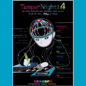 2009/8/29 KTS presents-Temper Night!-vol.4_genre:8bit+pikopiko sound