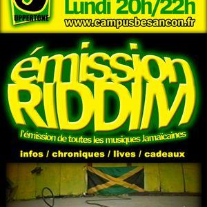 Emission RIDDIM 22 octobre 2012