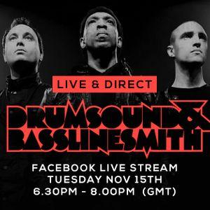 Drumsound & Bassline Smith - Live & Direct #12  [15-11-16]