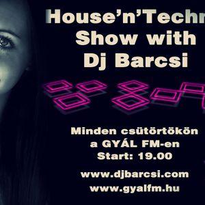 Dj Barcsi - House'n'Techno Show 2012-09-06