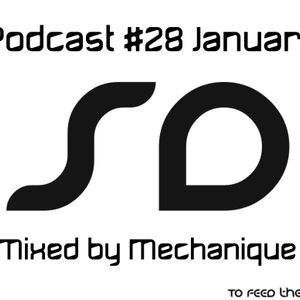 Podcast #28 SoundDesigners January mixed by Mechanique