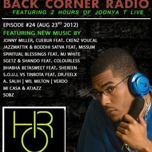 BACK CORNER RADIO: Episode #24 (Aug 23rd 2012)