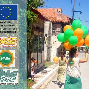 Η οργάνωση WAHA παρουσιάζει τις δράσεις της στη Β. Ελλάδα στην Ώρα της ΣυνΑνθρωπίας