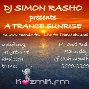 Trance Sunrise 038
