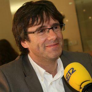 Carles Puigdemont, candidat de CIU Girona