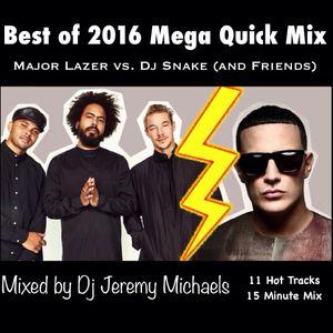 Major Lazer vs Dj Snake (and Friends) Best of 2016 Mega Quick Mix by