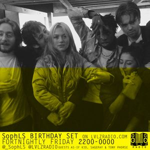 SophLS | 005 | 3.3.16 | GUEST DJS -  WUMPA, AS-IF KID, SAGEPAY & TONY PHORSE @_SOPHLS @LVLZRADIO