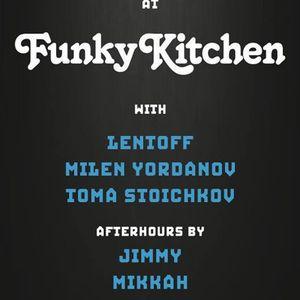 LENTOFF @ FUNKY KITCHEN 14-12-13