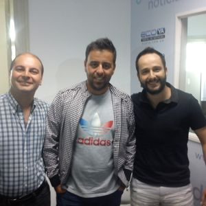 EL DERBY Con Diego Notario,Sebastian Heredia,Juan Pablo Toscano Y Claudio Taborda 14-7-2015