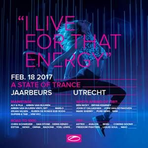Armin van Buuren Warm Up @ ASOT 800 Utrecht (18-02-2017)