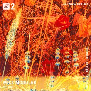 Miss Modular w/ BINT - 13th August 2020