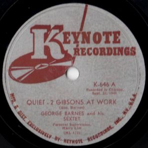 George Barnes Sextet 1946 Keynote Recordings