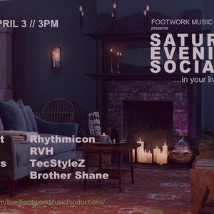 Daniel James @ Footwork(mp) Sat Eve Social Vol. 3 Live Stream 04-03-21