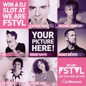 We Are FSTVL 2014 DJ Competition - Anthony Wright