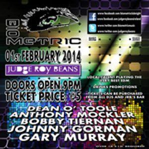 Anthony Mockler - LIVE Biometric Feb 1st 2014