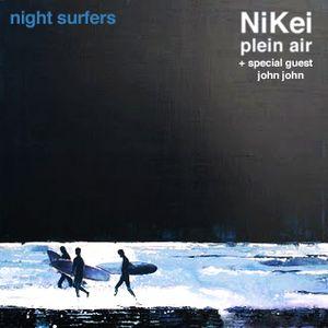 Plein air / night surfers / part.I I