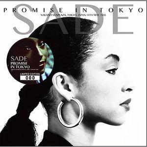 Sade -  1986-05-11 Promise in Tokyo SOUNDBOARD