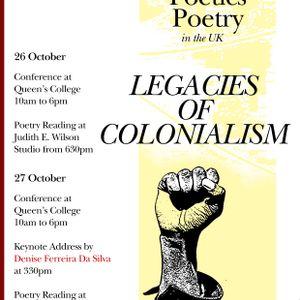 Panel 2: Race and Poetics