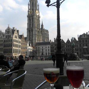 On the road naar Antwerpen!