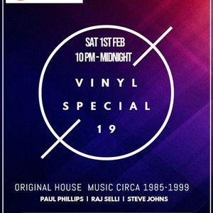 Paul Phillips, Steve Johns and Raj Selli Vinyl Special No19 (1st Feb 2020) www.soulfulgrooves.com