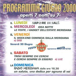 DJ Set Live 01 (La Meridiana-Lido di Spina)(29-07-2000)