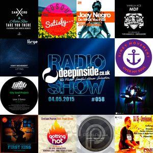 DEEPINSIDE RADIO SHOW 058 (Kinky Movement Artists of the week)