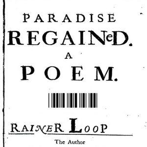 rainer loop - paradise regained - poem 2