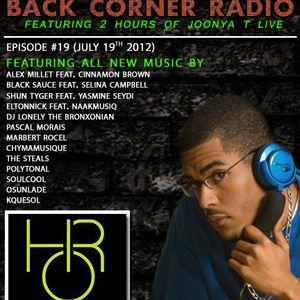 BACK CORNER RADIO: Episode #19 (July 19th 2012)