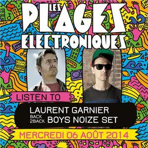 Laurent Garnier b2b Boys Noize @ Les Plages Electroniques Festival 2014 (2014.08.06 - France)
