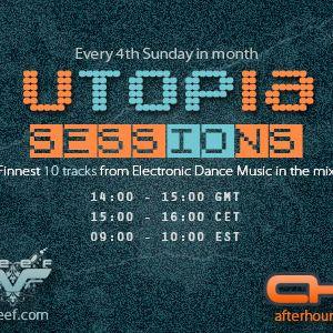 Teef - Utopia Sessions 45 @ AH.fm (28-10-2012)