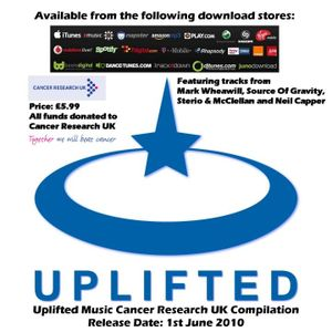 UPLIFTED MUSIC CANCER RESEARCH UK COMPILATION MINI MIX BY DJ MARK WHEAWILL