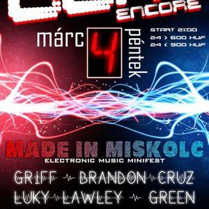 MadeInMiskolc LIVE @ Juno Encore, Miskolc 2011-03-04 PART1