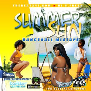 DJ S.FRESH PRESENTS THE SUMMER SUN MIXTAPE 2011 PT.2