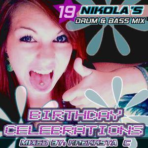 Birthday Celebrations - Nikola's Mix