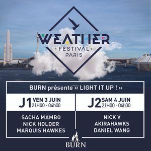 Daniel Wang @ Weather Festival