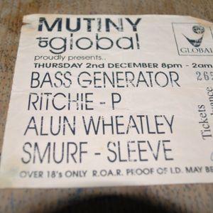 D.J. Alun Wheatly - Mutiny 2/8/93